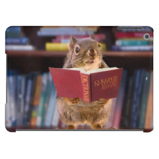 Smart Squirrel Reading a Dictionary Case For iPad Air