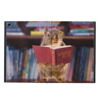 Smart Squirrel Reading a Dictionary iPad Air Cases
