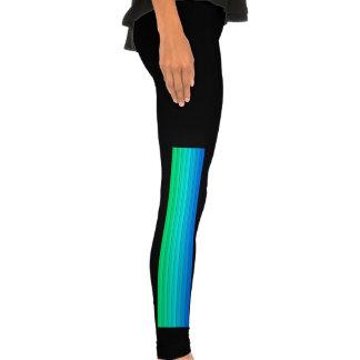 smart stripes,rainbow legging