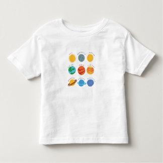 "Smart T-Shirt ""Solar system"""