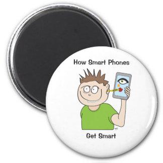 Smart-teléfono Imán Redondo 5 Cm