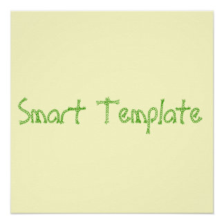 Smart Template Poster Template
