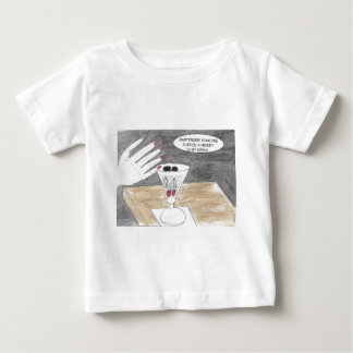 Smart Thinking Woman Baby T-Shirt