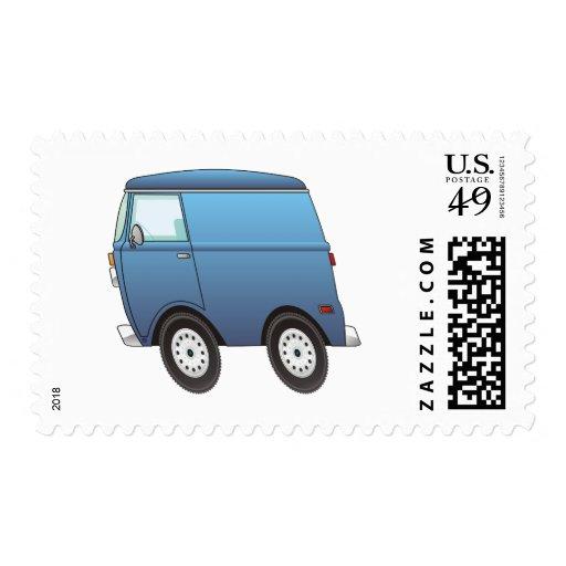 Smart Van Blue