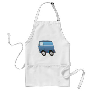 Smart Van Blue Adult Apron