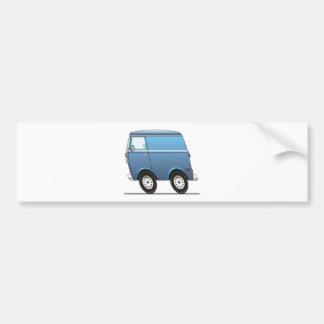 Smart Van Blue Bumper Sticker