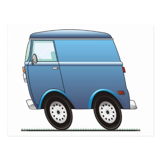 Smart Van Blue Postales