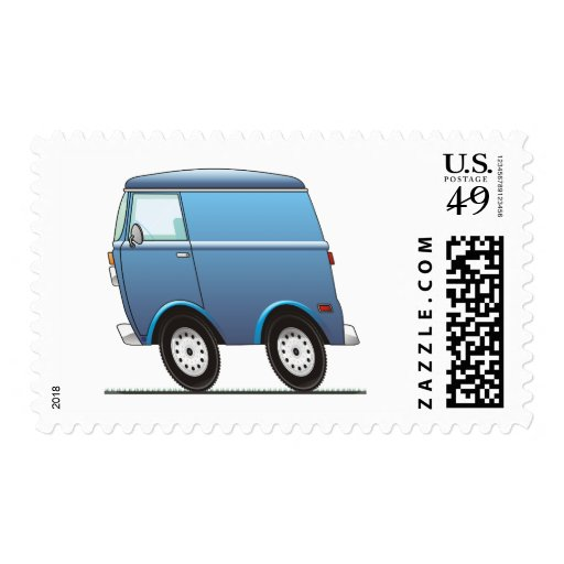 Smart Van Blue Sello
