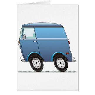 Smart Van Blue Tarjeta De Felicitación