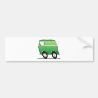 Smart Van Green Bumper Sticker