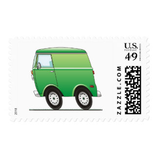 Smart Van Green Postage