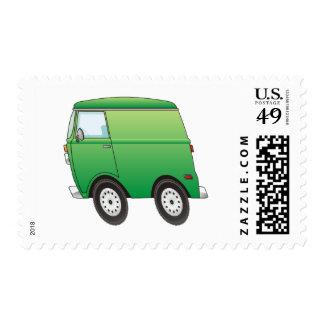 Smart Van Green Stamp