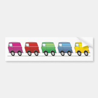 Smart Van Multiple Pegatina Para Auto