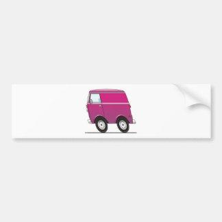 Smart Van Pink Bumper Sticker