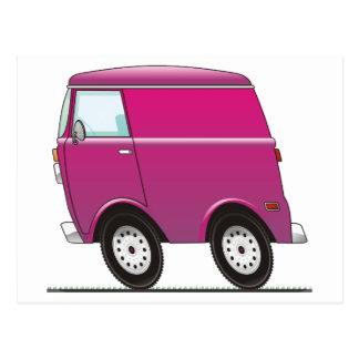 Smart Van Pink Postcard