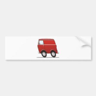 Smart Van Red Bumper Sticker