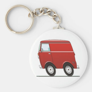 Smart Van Red Keychain