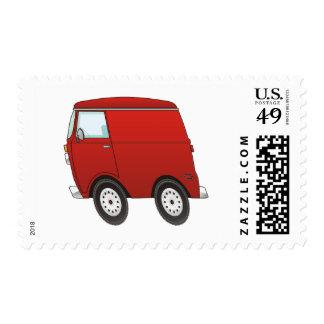 Smart Van Red Postage