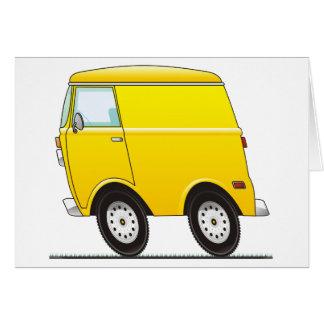 Smart Van Yellow Card