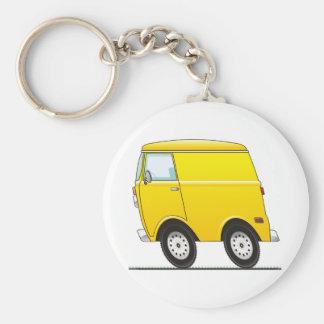 Smart Van Yellow Llavero Redondo Tipo Pin