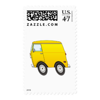 Smart Van Yellow Postage