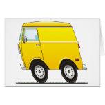 Smart Van Yellow Tarjeta