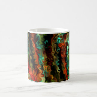 Smart Wavy Abstract Modern Art 45b.5 Coffee Mug