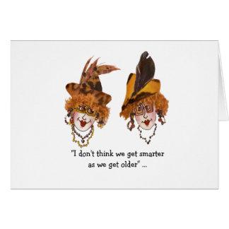 Smart Whimsical Ladies Card