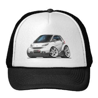 Smart White Car Trucker Hat