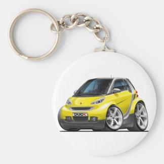 Smart Yellow Car Key Chain