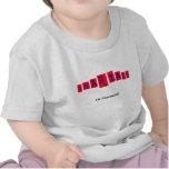 Smartass en el entrenamiento camiseta