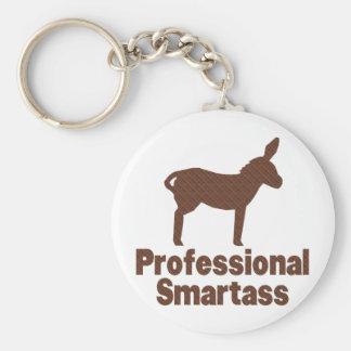 Smartass profesional llavero redondo tipo pin