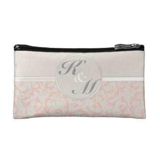 SmartElegance Coral Wedding Collection Cosmetic Bag