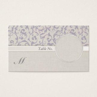 SmartElegance lavender Wedding Collection Business Card