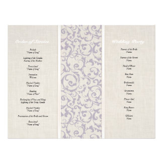 SmartElegance lavender Wedding Collection Flyer