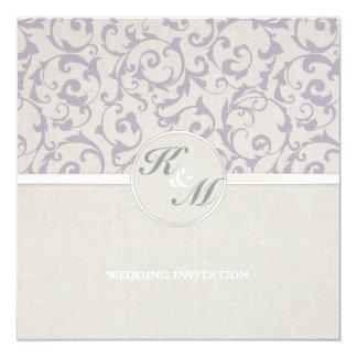 SmartElegance Lavender Wedding Invitation