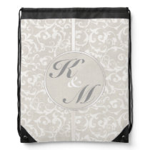 SmartElegance Natural Wedding Collection Drawstring Backpack