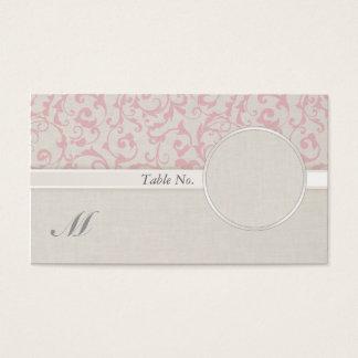 SmartElegance Pink Wedding Collection Business Card