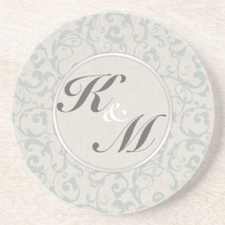 SmartElegance SeaSpray Wedding Collection Drink Coaster