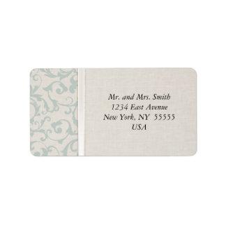 SmartElegance SeaSpray Wedding Collection Label