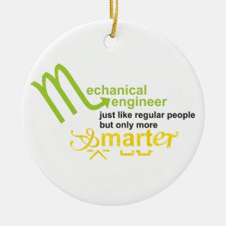 smarter ceramic ornament