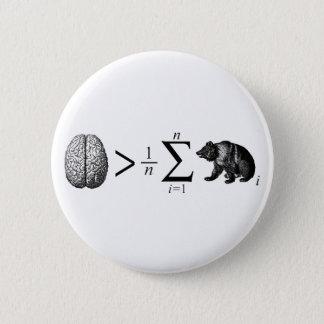 Smarter Than The Average Bear Button