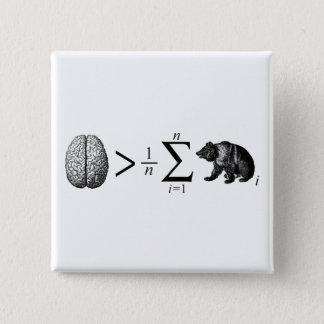 Smarter Than The Average Bear Pinback Button