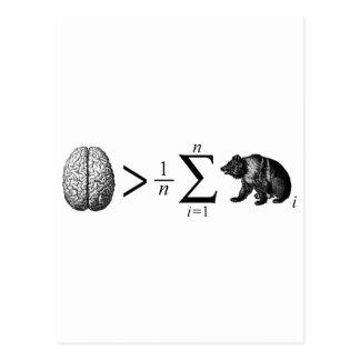 Smarter Than The Average Bear Postcard