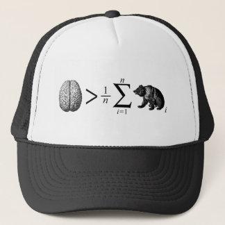 Smarter Than The Average Bear Trucker Hat