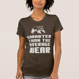 Smarter than the average bear tee shirts
