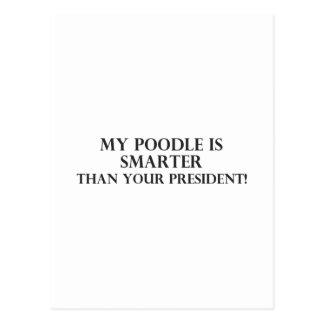 Smarter Than The President 3 Postcard