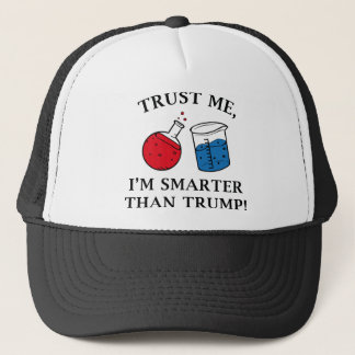 Smarter Than Trump Trucker Hat