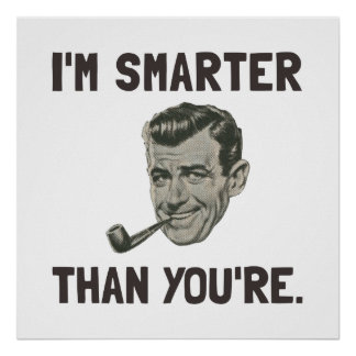 Smarter Than Youre Poster