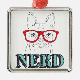 Smartest Boston Terrier Metal Ornament